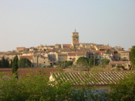 Le charmant village de Sablet